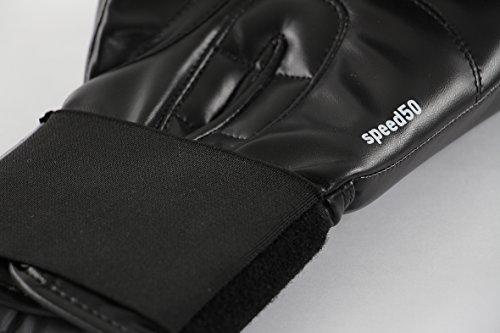 adidas Boxhandschuhe Speed 50, Schwarz, 10, ADISBG50 -