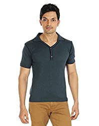 Silver Spring Grey Super Combed Cotton T Shirt _ RVD010_XL