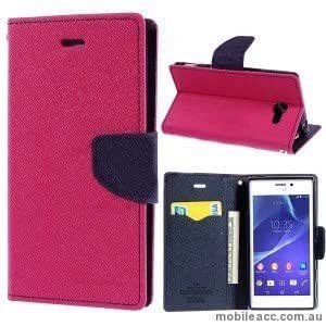 MERCURY FLIP COVER FOR SAMSUNG GALAXY NOTE 1 - PINK