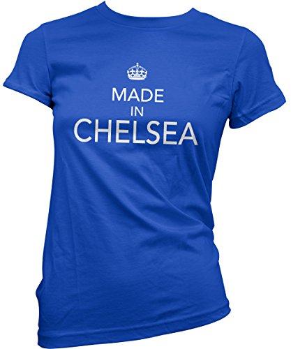 HotScamp Premium Made In Chelsea Womens Blue T-Shirt Girls Top