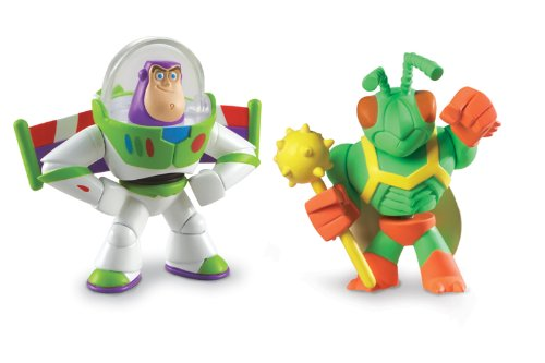 Disney / Pixar Toy Story 3 Action Links Mini Figure Buddy 2Pack Twitch & Hero Buzz Lightyear