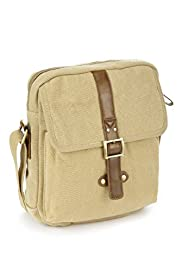 Canvas Buckle Manbag