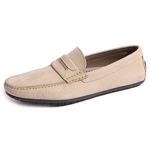 B0462 mocassino uomo scarpa DOLCE&GABBANA D&G loafer shoes men [41.5 (7.5)]