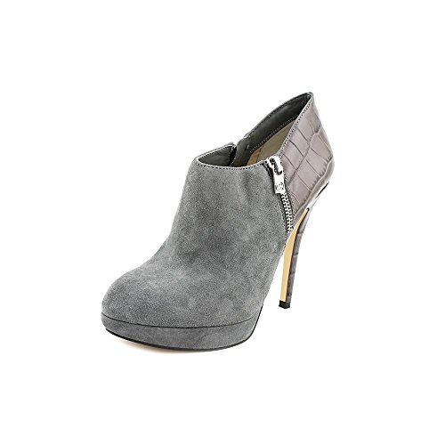 Michael Kors York Bootie Womens Size 5 Gray Suede Booties Shoes