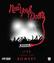 New York Dolls: Live at the Bowery [Blu-ray]