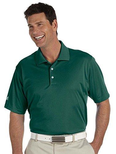 Adidas Golf Men's Climalite Basic Performance Polo Shirt, Coast, Medium