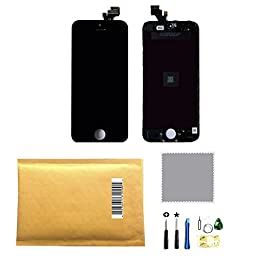 LCD Display+Touch Screen Digitizer Assembly Replacement for iPhone 5G Black