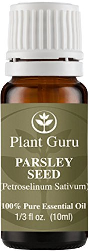 Parsley Seed Essential Oil. 10 ml. 100% Pure, Undiluted, Therapeutic Grade.