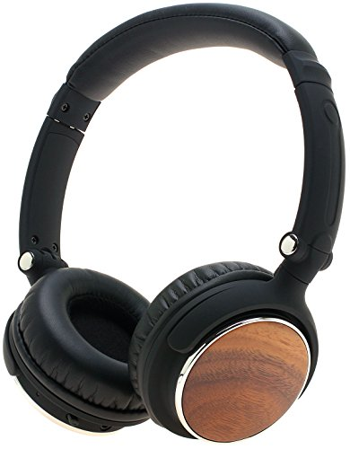 Symphonized Sensation Premium Wireless Genuine Wood Headphones (Walnut)