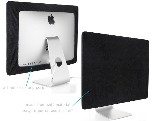 how to turn imac screen black