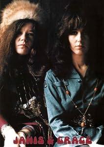Janis Joplin and Grace Slick Music Poster Print