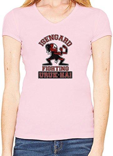 Isengard Fighting Uruk-hai T-Shirt V collo Donne XX-Large
