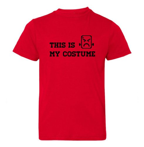 Festive Threads Big Boys' Is My Costume (Frankenstein) Kids T-Shirt