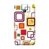 Garmor Seamless Colorful Design Plastic Back Cover For Nokia Lumia 640 LTE (Seamless Colorful - 4)