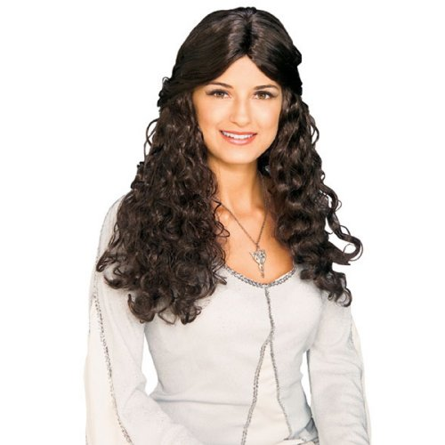 Rubie's Costume Lord Of The Rings Arwen Wig, Brown, One Size