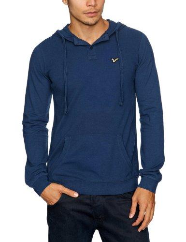 Voi Jeans Ocean Hood Men's Sweatshirt Insignia Blue Large