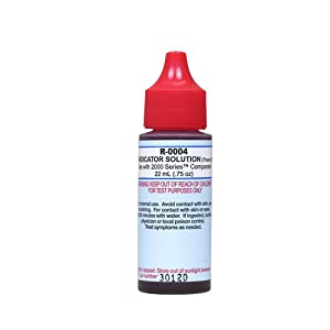 TAYLOR TECHNOLOGIES INC R-0004-A-24 PHENOL RED #4 3/4 OZ, Box of 24