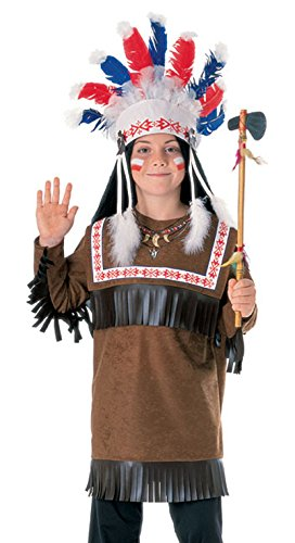 Rubies Cherokee Warrior Child Costume
