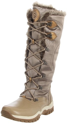 Rockport Women's Finna Fur Lace Up Antlers Waterproof Boot K58738 4 UK