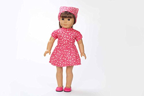 Teenitor(TM) Little Red Riding Hood Style Clothes Fits 18 Inch Girl Dolls (Shipping By FBA)