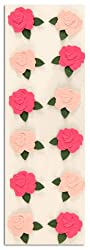 Martha Stewart Crafts Stickers Roses Pink By The Package