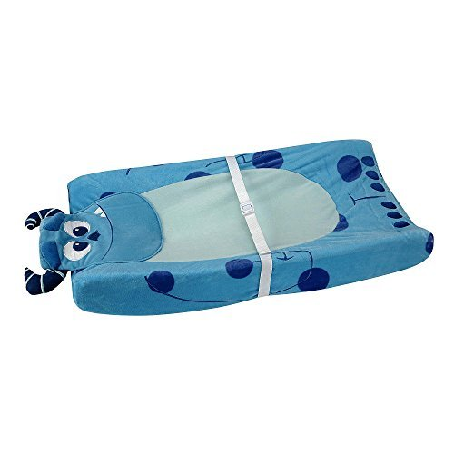 Disney Baby - Monsters, Inc. - Contoured Changing Pad Cover - Blue Sully - 1