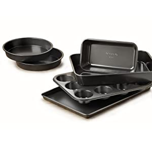 Simply Calphalon Nonstick 6-Piece Bakeware Set - Kitchen Gift