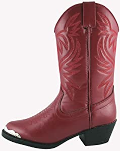 Smoky Mountain Kids Western Mesquite Boots - Red Child 9.5