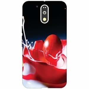 Motorola Moto G4 Plus Back Cover - Silicon Red Designer Cases