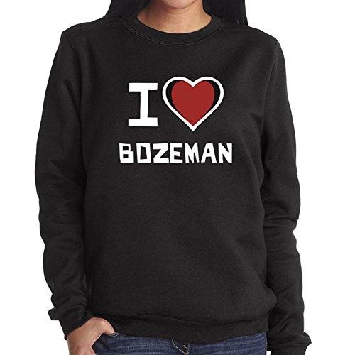 Felpa da Donna I love Bozeman