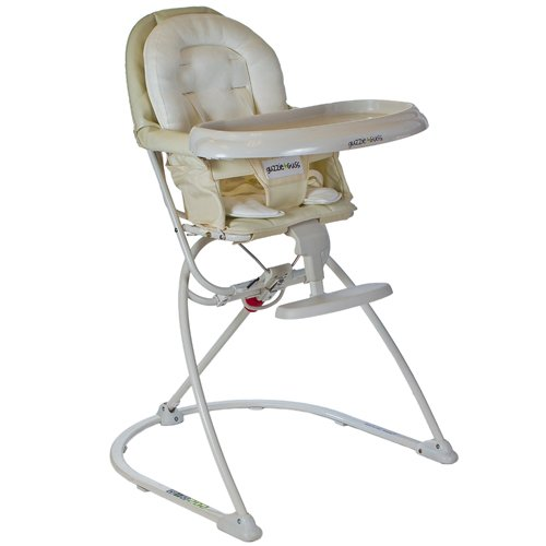 guzzie+Guss G+G 202 Modern High Chair, Vanilla