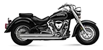 Cobra Speedster Slashdown Exhaust System for Yamaha Cruisers - Yamaha XV1600A Road Star 1999-2003