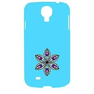 Skin4gadgets Artistically Drawn Mandala Tattoo In Pastel Colors -Aqua Blue, No.11 Phone Designer CASE for SAMSUNG GALAXY S4 (I9500)