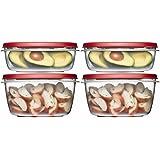 Rubbermaid 8-Piece Easy Find Lid Food Storage Set