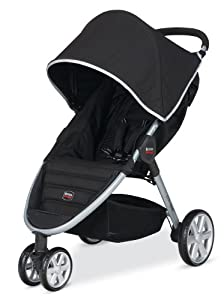 Britax 2014 B-Agile Stroller, Black (Discontinued by Manufacturer)