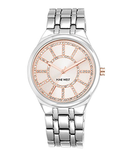 nine-west-womens-quartz-watch-with-pink-dial-analogue-display-and-silver-alloy-bracelet-nw-1807pksb