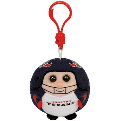 Ty Beanie Ballz Houston Texans - Clip