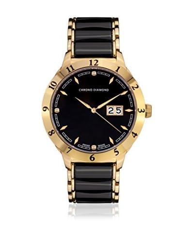 Chrono Diamond Reloj con movimiento cuarzo suizo Man 10600Ar Nestor