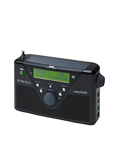 Roberts Radio  Radio Portátil Solardab Negro