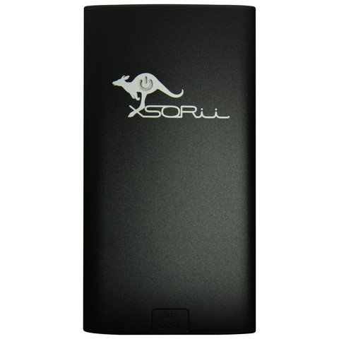 6000 mAh PowerBar Portable Charger Black Photo