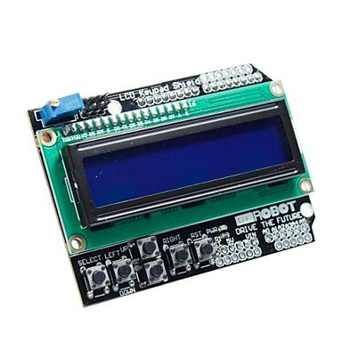 """Zcl 2.6"""" Lcd Keypad Shield For (For Arduino) (Works With Official (For Arduino) Boards)"""