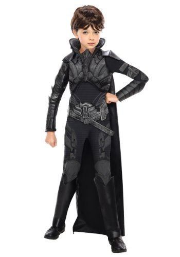 Man of Steel Deluxe Child's Faora Costume