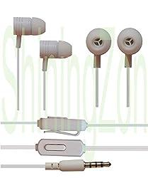 3.5mm In Ear Earbud Stereo Sound Noise Free Earphones Headphone Mini Size HandsFree Headset with Mic For Asus Zenfone 2 Laser ZE550KL (5.5 inch)