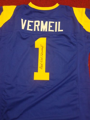 Dick Vermeil Signed St. Louis Rams Jersey- Autographed at Amazon.com