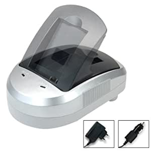 Blumax Set chargeur Base chargeur voiture Pour Canon LP-E6 / LC-E6 / LC-E6e 12 V (Import Allemagne)