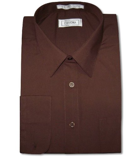 casual button down shirts men 39 s chocolate brown color