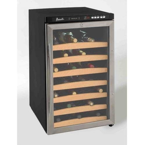 Avanti : WC400SS 20in Wine Cooler - 40-Bottle Capacity