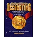 Century 21 Accounting 7E Multicolumn Journal Approach: Working Papers Chapters 18-26