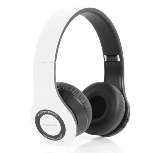 Bluedio Model B2 Colour Music Hi-Fi Rank Wireless & Bluetooth Headphones (White)