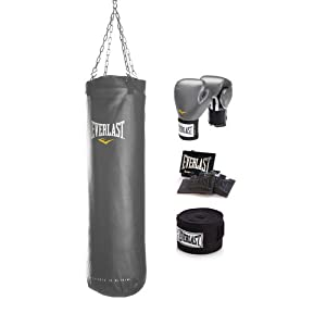 Everlast MMA Training Kit (Red, 70 Pounds)